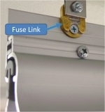 Fuse Link used to secured a Flat-Wall Hook Bead Bar